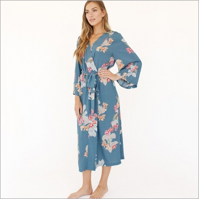 knee length bridesmaid robes