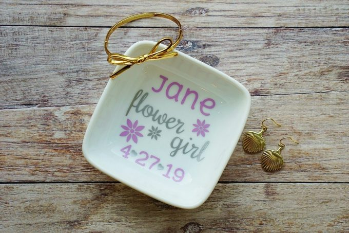 flower girl dish