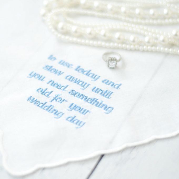 handkerchief for flower girl