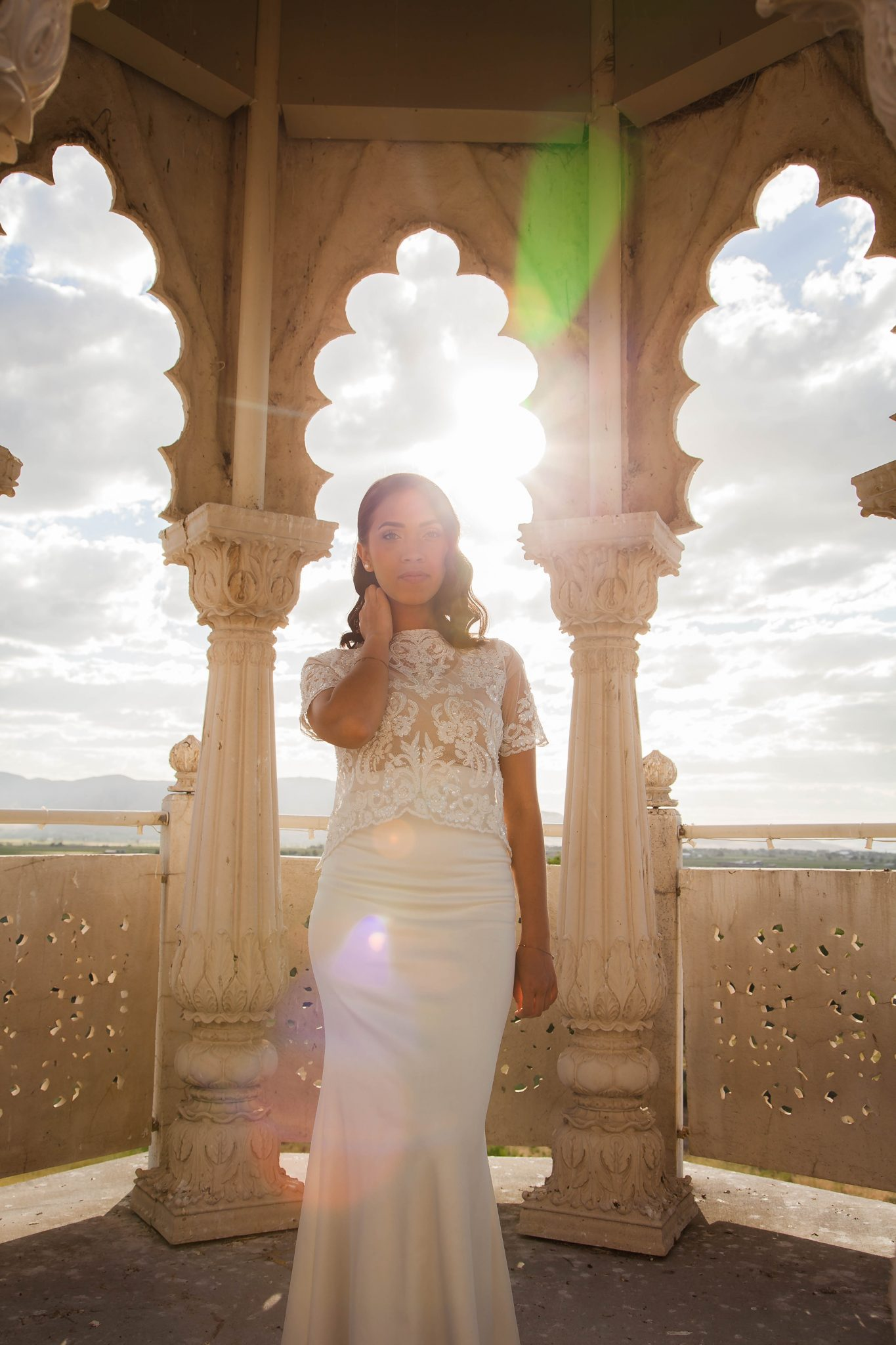 bridal shoot ideas - photo by kramer kreations