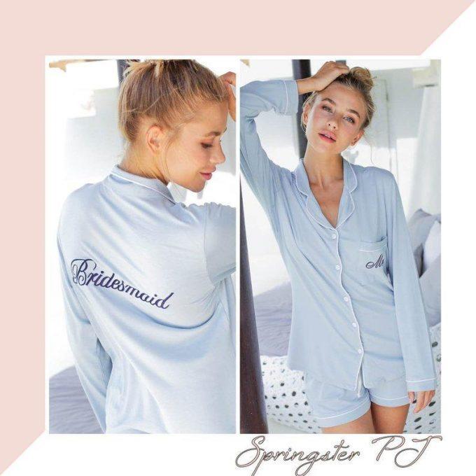 best bridesmaid pajamas