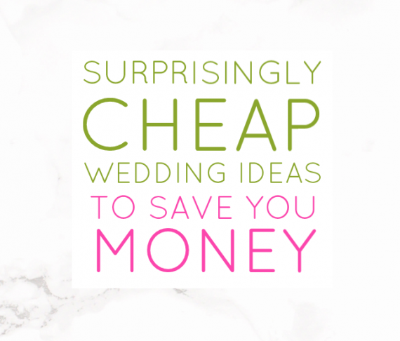 How to Plan an Affordable (Not CHEAP) Wedding