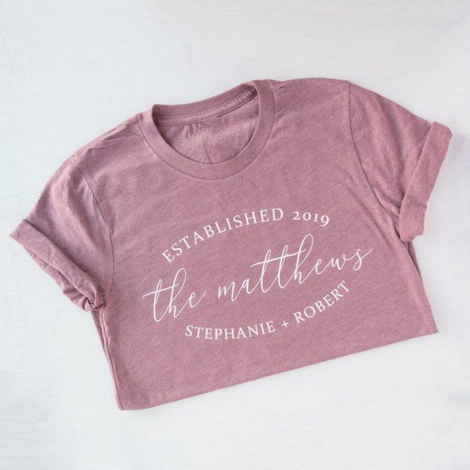 modern bride tee shirt