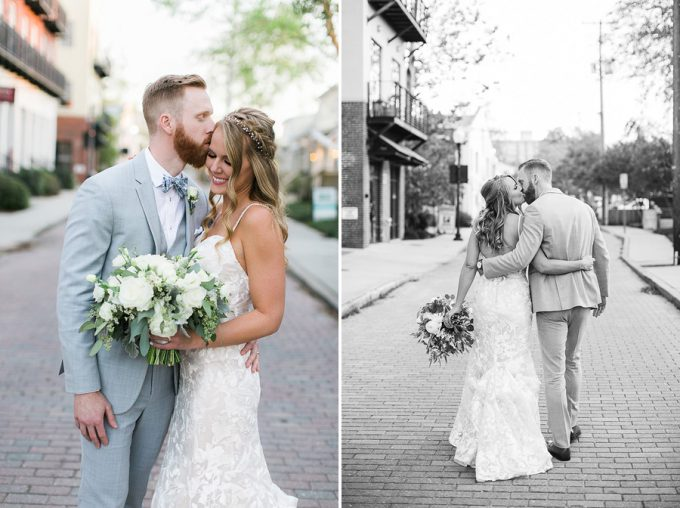 downtown wilmington wedding
