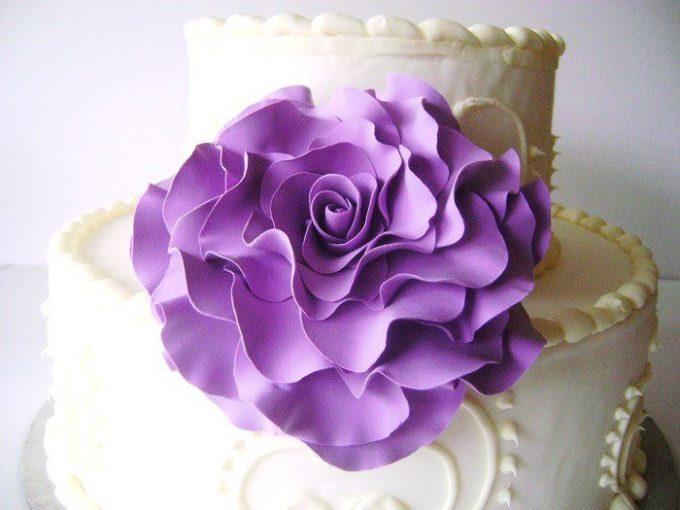 flower cake toppers for weddings