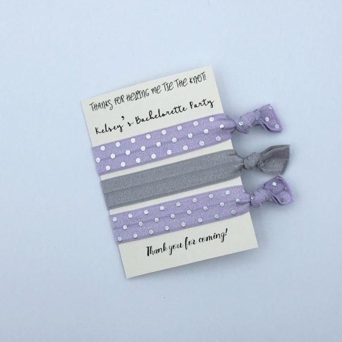 hair tie favors