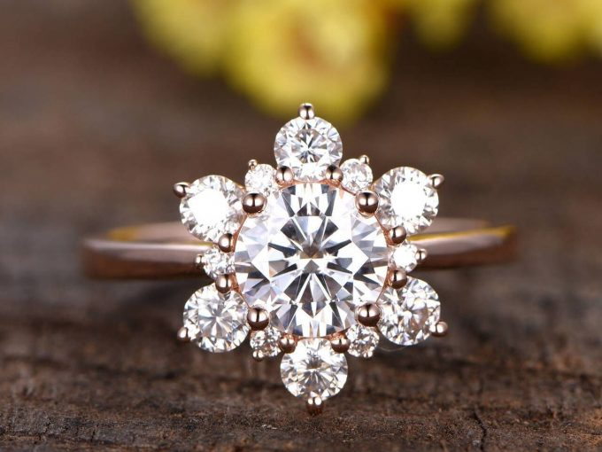 gemstone engagement rings 2019