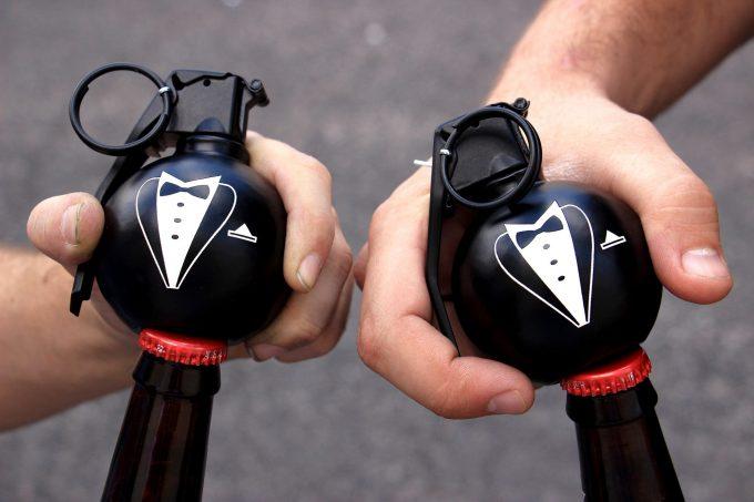 bottle opener groomsmen gifts