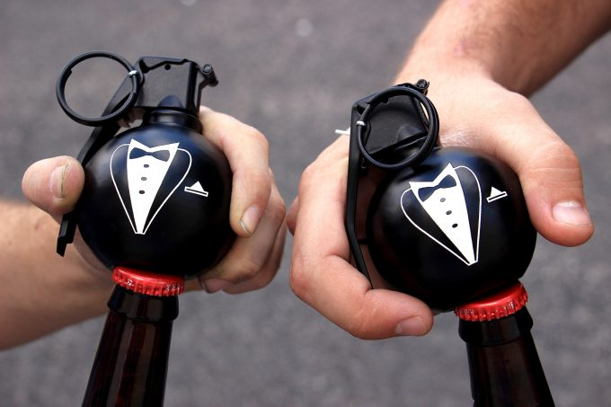 bottle opener groomsmen gifts