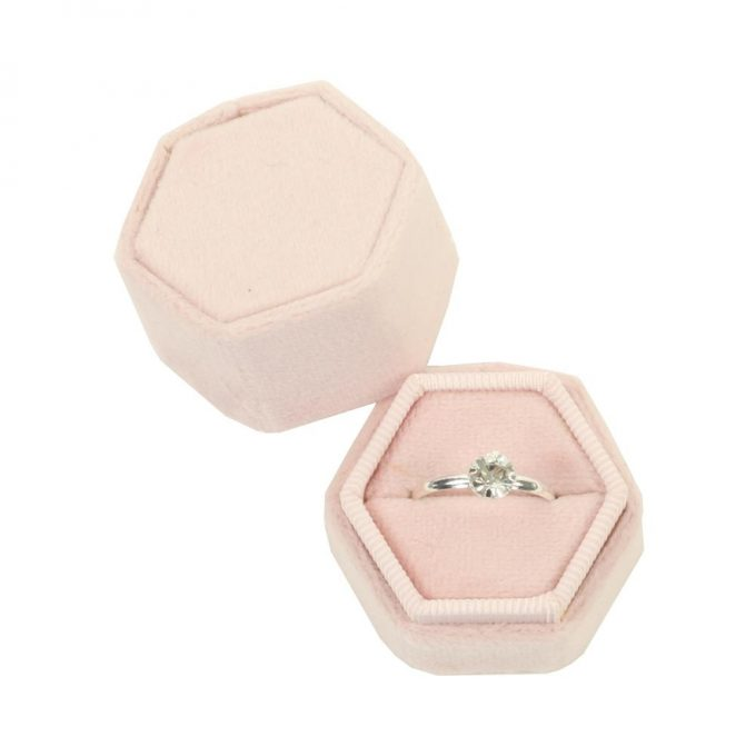 cheap velvet ring box