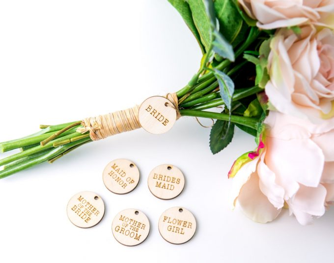 bride bouquet charm