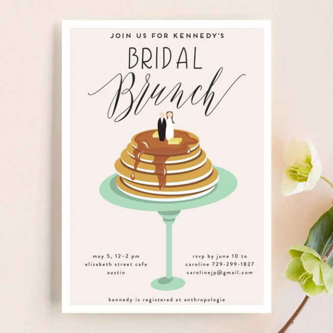 planning a bridal shower