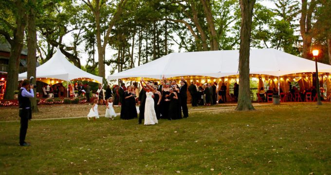 chicago wedding tent rental