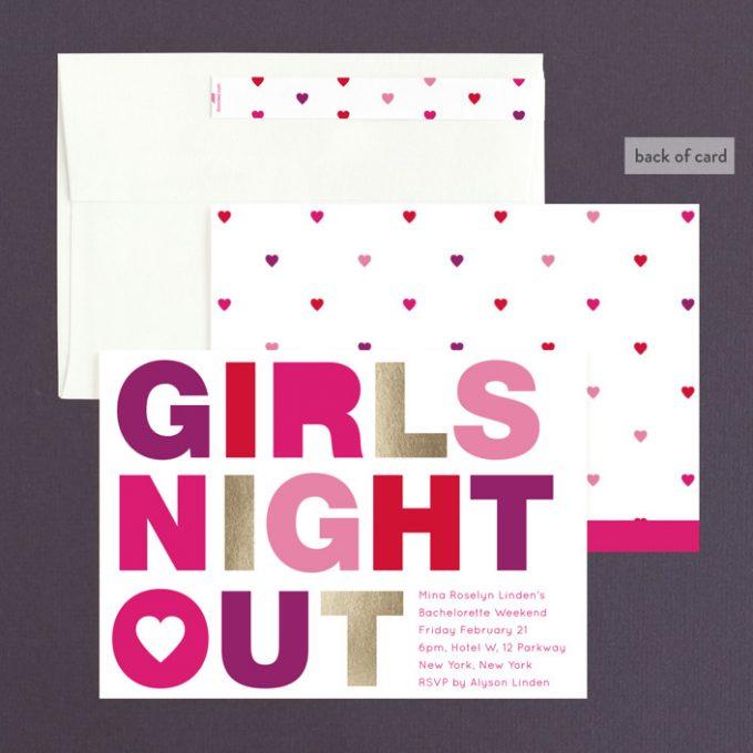 bachelorette party favor ideas and invitations