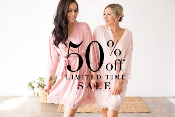 cheapest bridesmaid robes