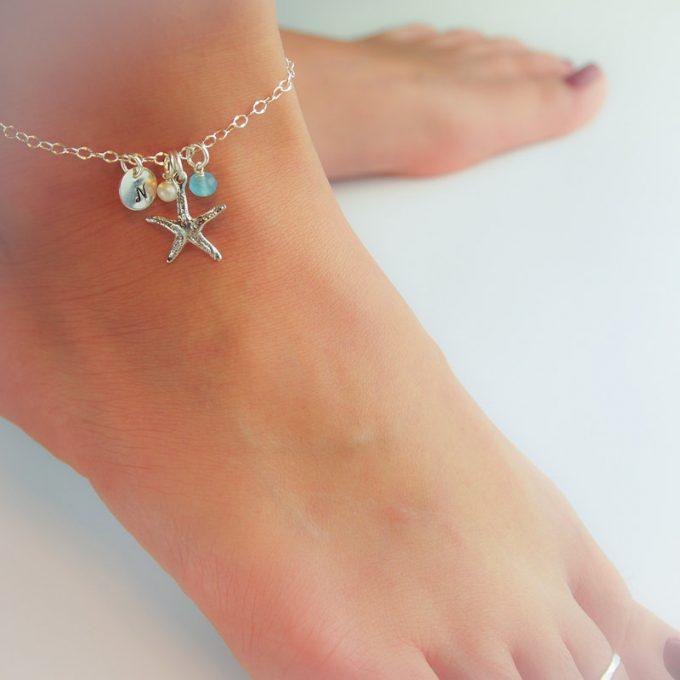 personalized anklet bracelet