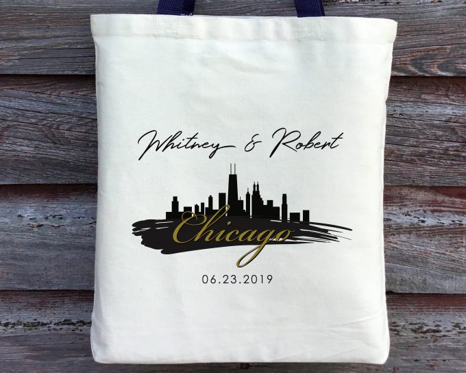chicago themed wedding