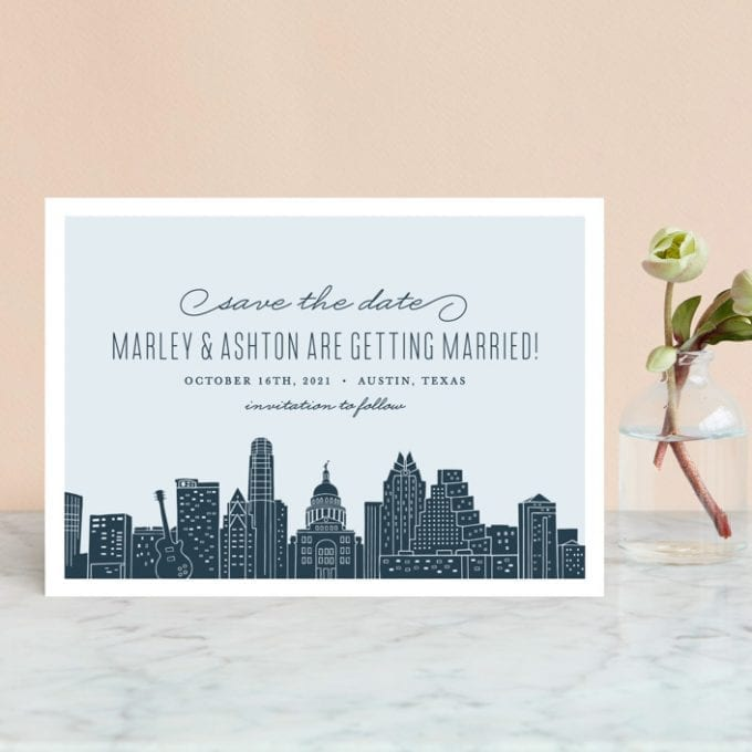 austin themed wedding ideas