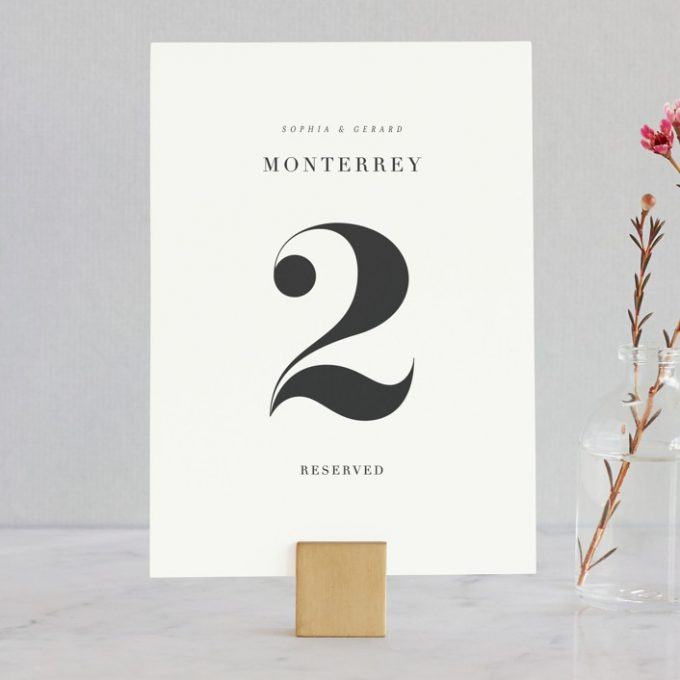 Unique Table Numbers For Wedding Reception Ideas: 18 Unique Wedding Table Numbers That Look Beautiful