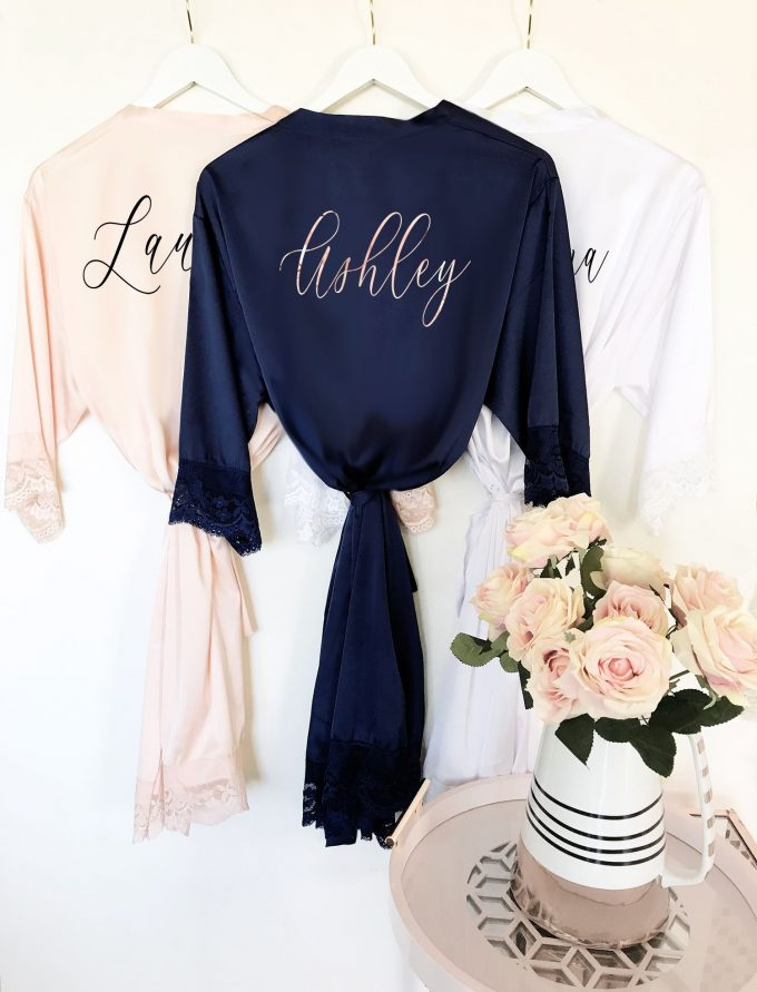 personalized robe for bridesmaids