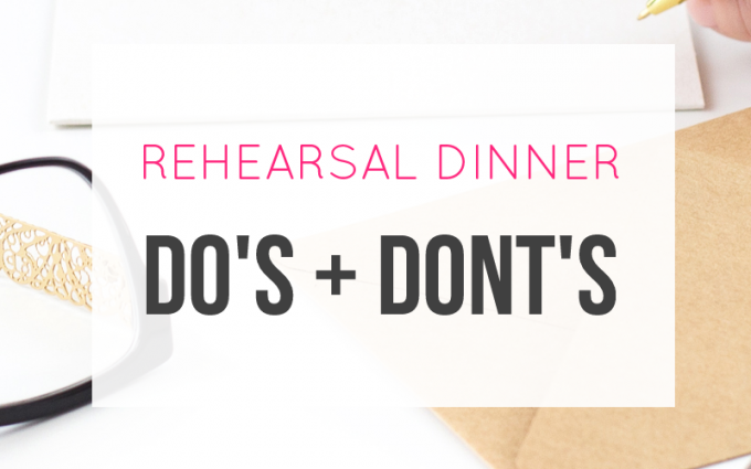 rehearsal dinner invitation wording and examples