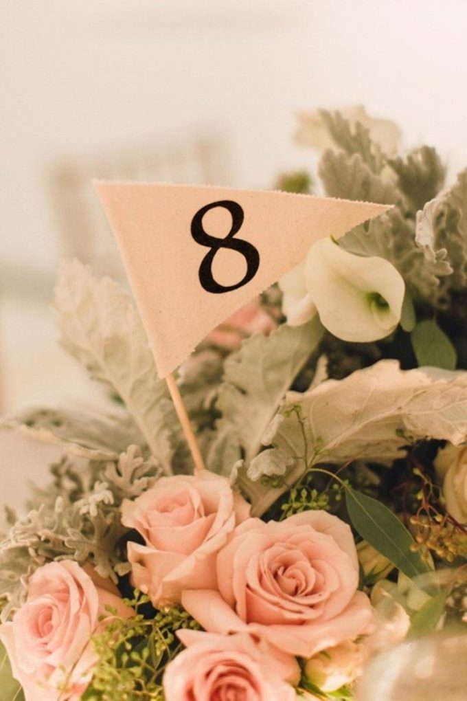 unique wedding table numbers