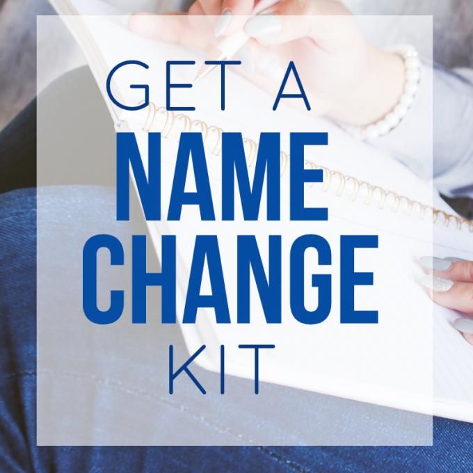 name change kit