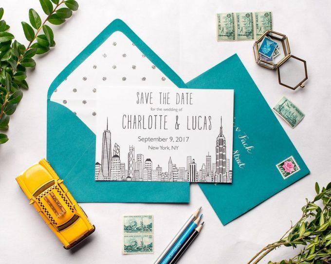 new york themed wedding