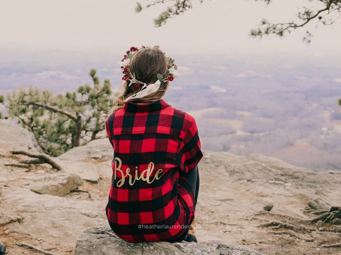 flannel bride shirt
