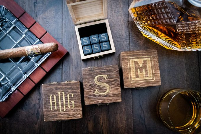whiskey groomsmen gifts