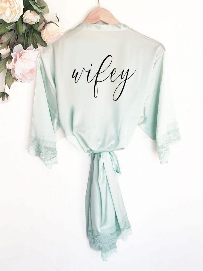 wifey robe