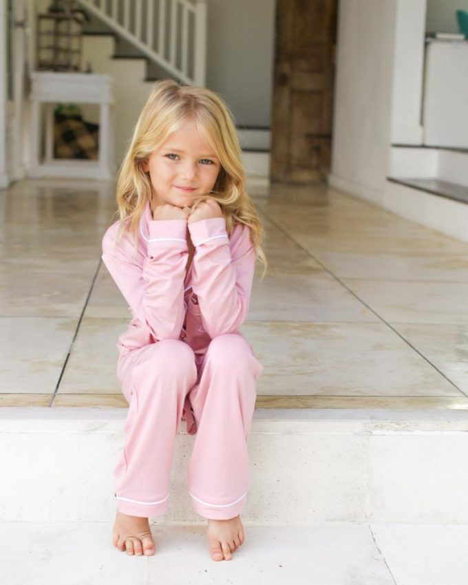 flower girl pajamas