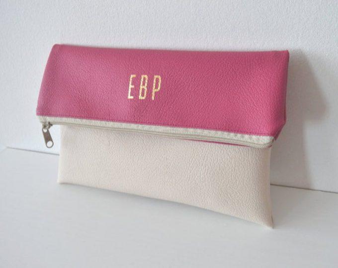 monogram purse