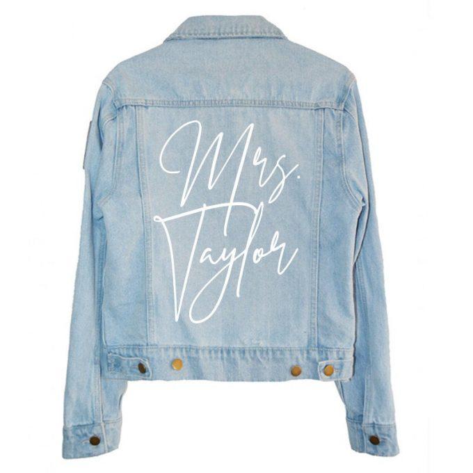 mrs bridal jacket