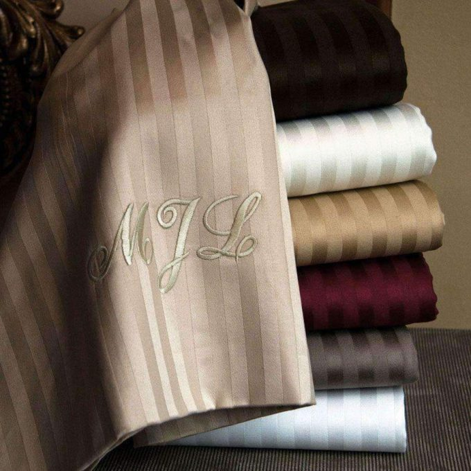 luxury sheets for wedding gift