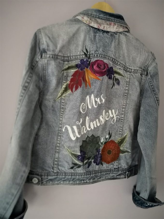 mrs bridal jacket