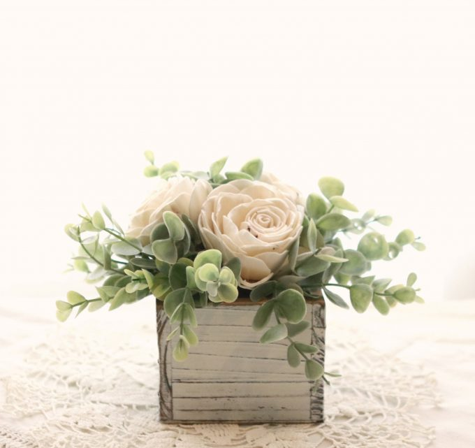 easy rustic centerpieces