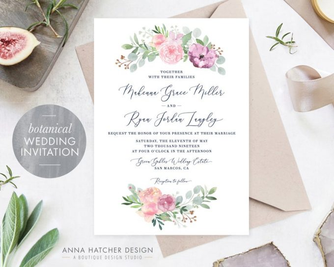 almost free wedding invitation samples