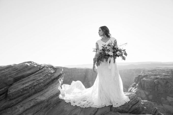 bridal portraits - photo by kilmer kreations