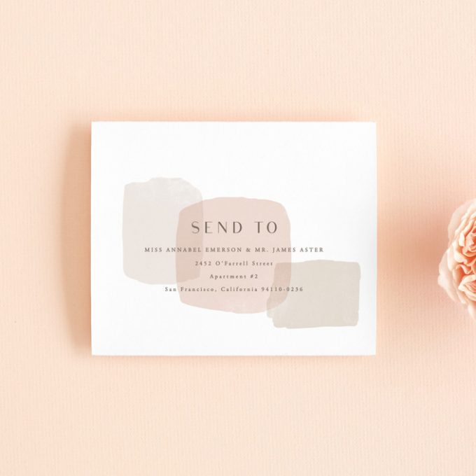 wedding invitations that include rsvp