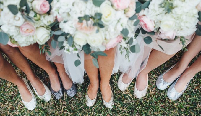 bridesmaid shoe tips