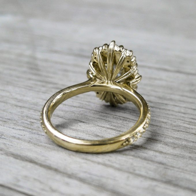 vintage inspired engagement rings