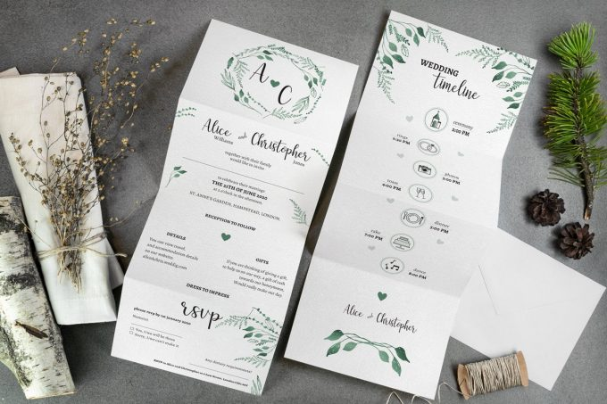 invitations that save money