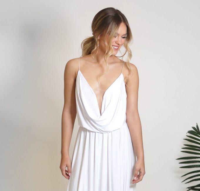 cheap bohemian wedding dresses