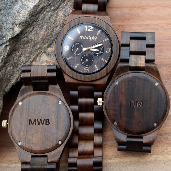 engraved groomsmen watches