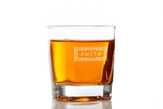 custom whiskey glasses