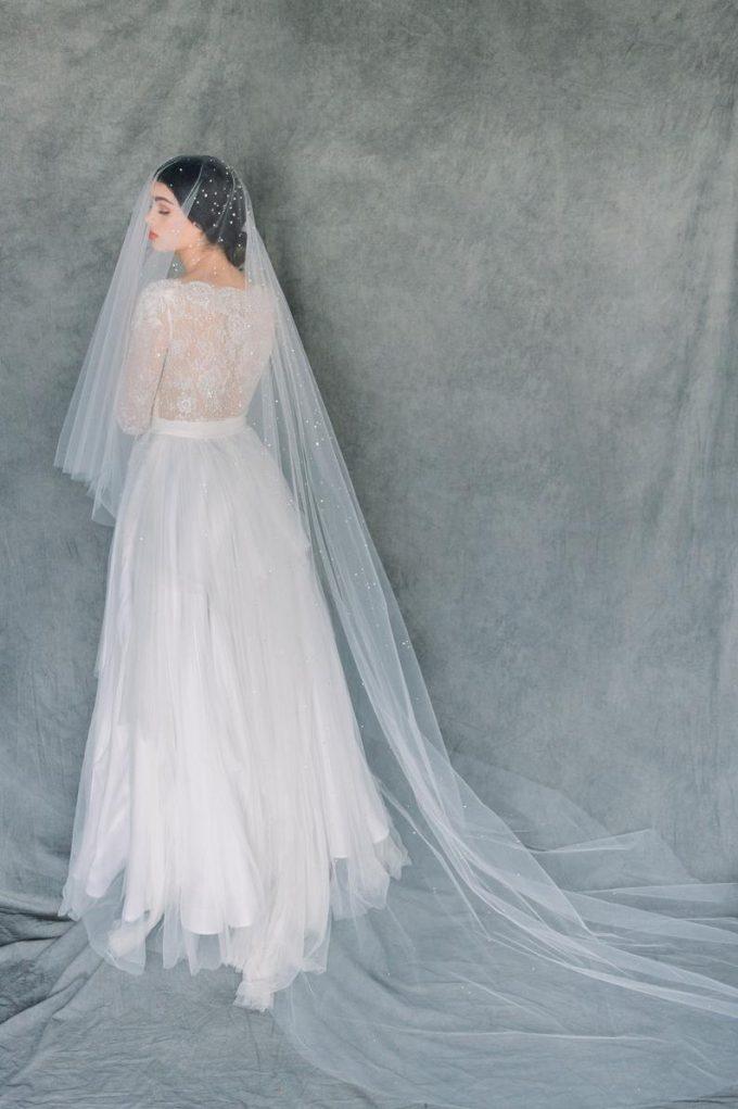crystal bridal veil