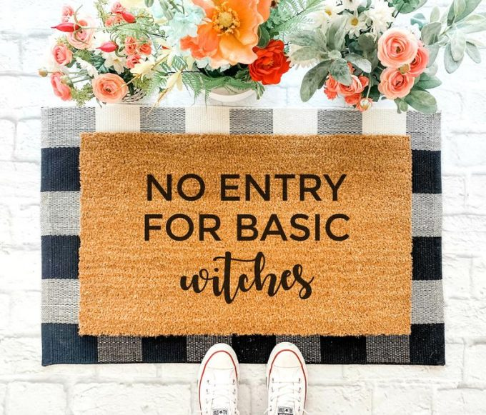 Best Fall Doormats on Etsy