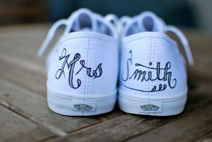 custom wedding vans