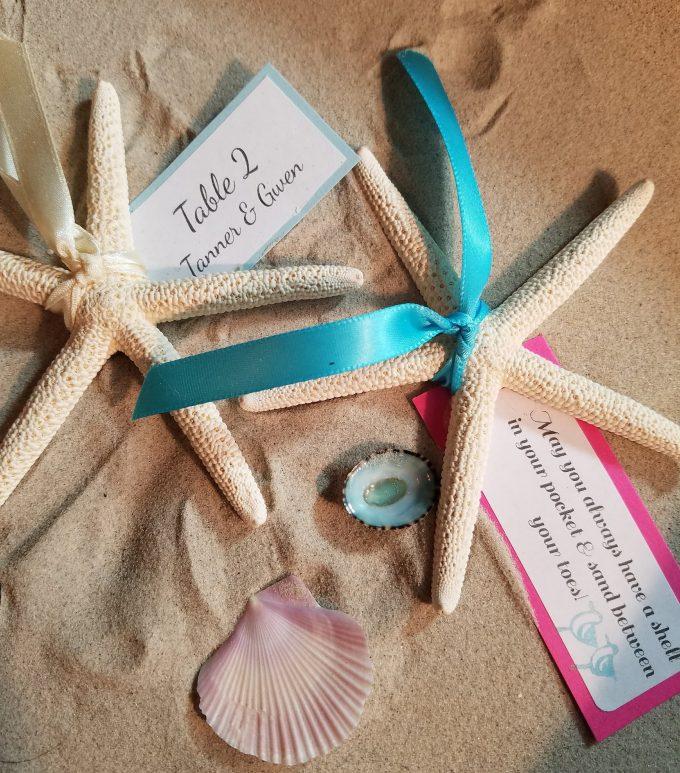 starfish escort cards